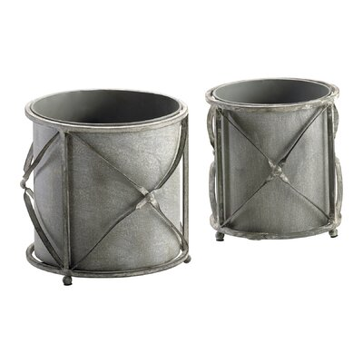 Cyan Design Sheldon Round Planters (Set of 2)