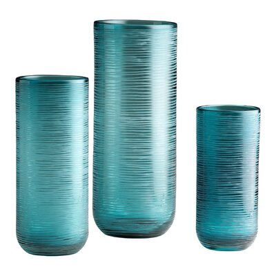 Cyan Design Small Libra Vase in Aqua