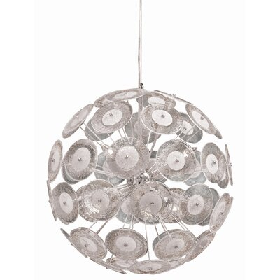 Cyan Design Dandelion 6 Light Globe Pendant