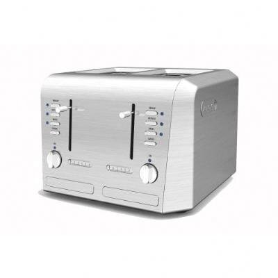 DeLonghi 4-Slice Stainless Steel Conventional Toaster