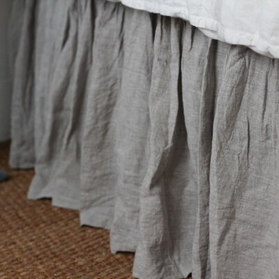 Pom Pom At Home Organic Linen Bed Skirt