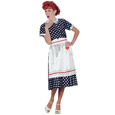 I Love Lucy Polka Dot Women Costume