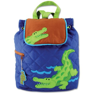 Stephen Joseph Alligator Quilted Backpack