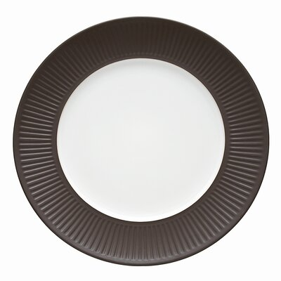 Dansk Flamestone Brown Dinner Plate