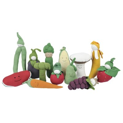 Under the Nile Veggies Tomato Plush Toy