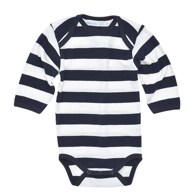 Rugby Long Sleeve Baby Bodysuit