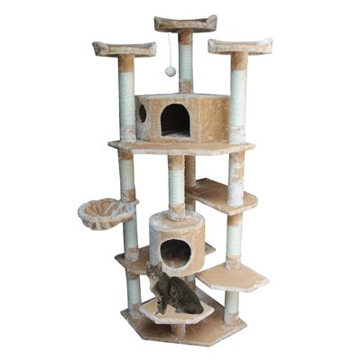 "Kitty Mansions 72"" Denver Cat Tree"