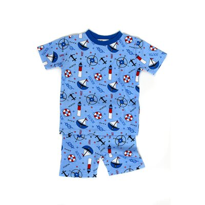 New Jammies Nautical Nights Organic Short Pajama