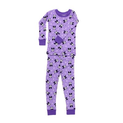 New Jammies Organic Cotton PJ Pondering Pandas