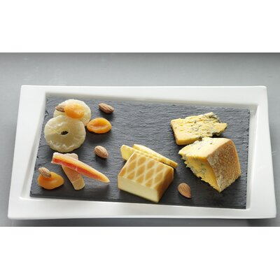 Luigi Bormioli Slate Rectangle Serving Tray Set