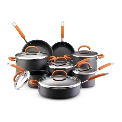 Rachael Ray Hard-anodized 14-Piece Cookware Set