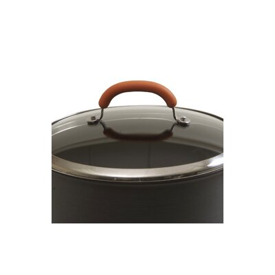 Rachael Ray Hard-Anodized 6-qt. Chef's Pan with Lid