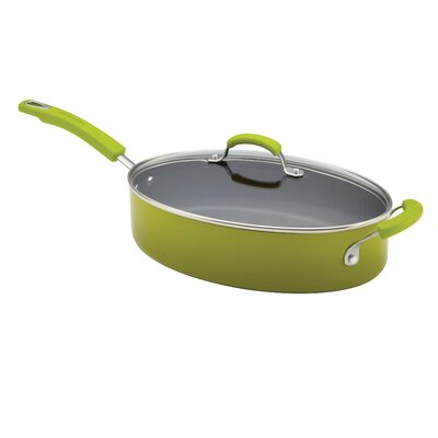 Rachael Ray Porcelain II Saute Pan with Lid