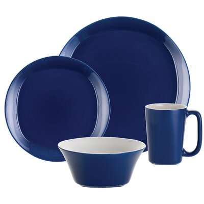 Rachael Ray Round and Square 16 Piece Dinnerware Set