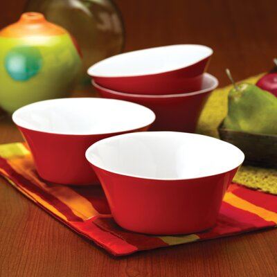 Rachael Ray Round and Square 4 Piece Cereal Bowl Set