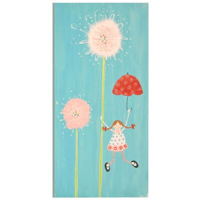 Matilda / Umbrella Hand Painted Wall Art