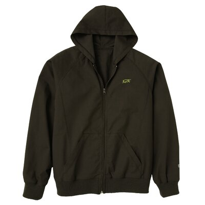 Iguana Med 5050 2-Pocket MedFlex II Solid Hoodie in Carbon Black