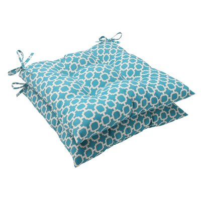 Pillow Perfect Hockley Tufted Seat Cushion (Set of 2)