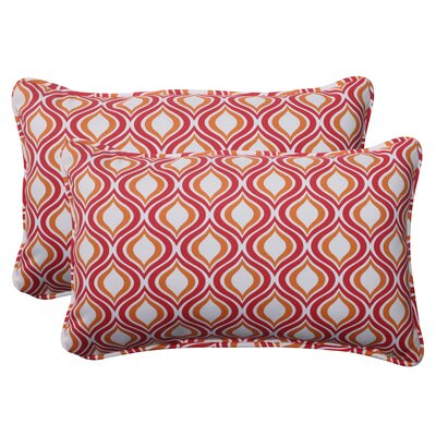 Pillow Perfect Zinger Corded Throw Pillow (Set of 2)