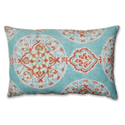 Pillow Perfect Mirage Medallion Polyester Throw Pillow