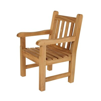 Barlow Tyrie Teak Glenham Dining Arm Chair with Cushion
