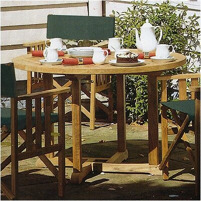 Barlow Tyrie Teak Balmoral 5 Piece Dining Set