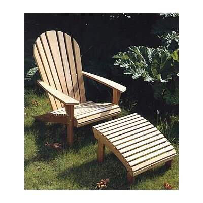 Barlow Tyrie Teak Adirondack Seating Set