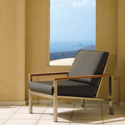 Barlow Tyrie Teak Equinox Deep Seating Arm Chair