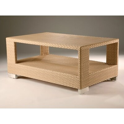 Barlow Tyrie Teak Arizona Rectangle Woven Coffee Table