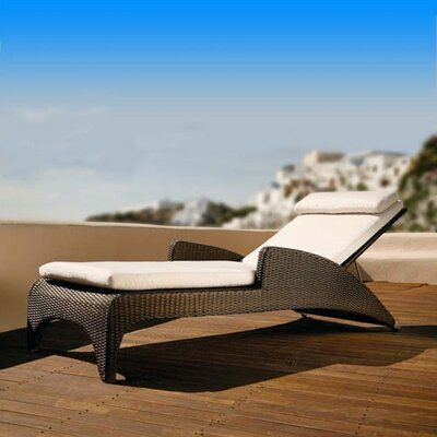 Barlow Tyrie Teak Parrot Savannah Sun Chaise Lounge
