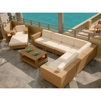 Barlow Tyrie Teak Arizona Sahara Deep Seating Set