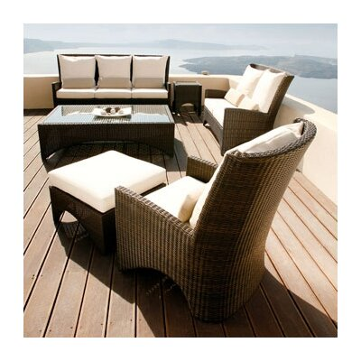 Barlow Tyrie Teak Savannah Wicker Seating Group