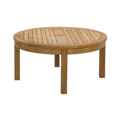 Barlow Tyrie Teak Equinox Circular Conversational Coffee Table