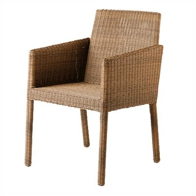 Barlow Tyrie Teak Nevada Woven Lounge Arm Chair