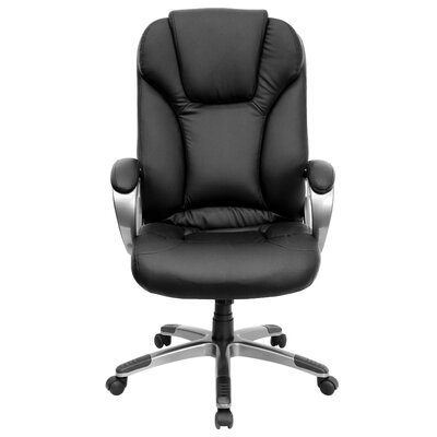 Flash Furniture High-Back Leather Office Chair