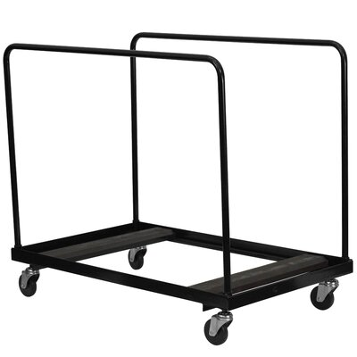 Flash Furniture Steel Folding Table Dolly for Round or Rectangular Tables