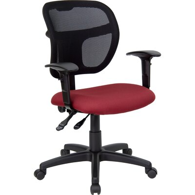 Flash Furniture Mid-Back Mesh Task Chair with Curved Back