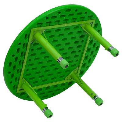 Flash Furniture Round Height Adjustable Plastic Activity Table