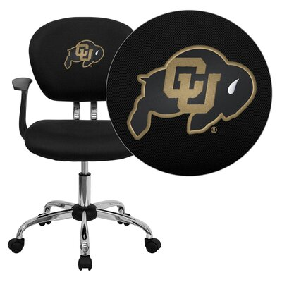 Flash Furniture NCAA Mid-Back Task Chair with Arms