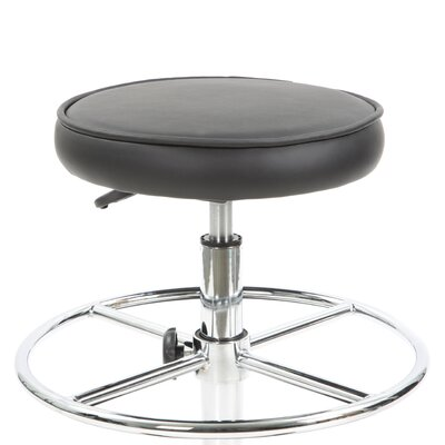 Flash Furniture Height Adjustable Drafting Stool with Footring