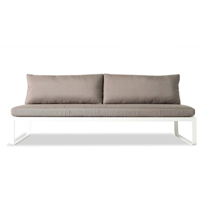 Harbour Outdoor Clovelly Armless Deep Seating Sofa with Cushions