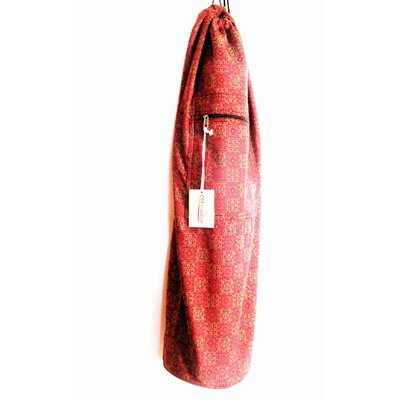 OMSutra Saree Fabric Yoga Mat Bag