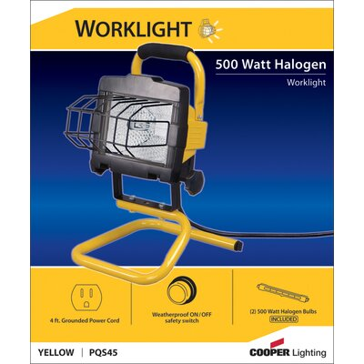 Cooper Lighting 500 Watt Halogen Portable Worklight