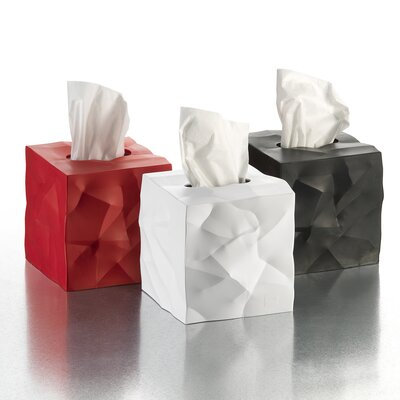 Essey Crinkle Tissue Box Cover