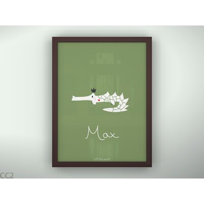 LittleLion Studio Croco King Print