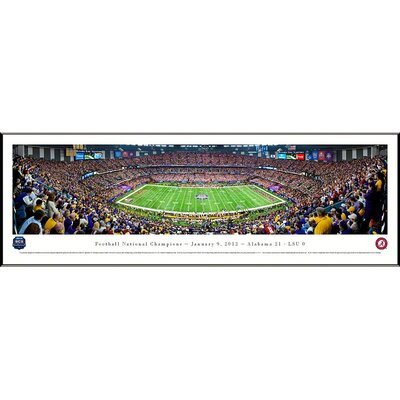 Blakeway Worldwide Panoramas, Inc NCAA BCS Football Championship 2012 Standard Frame Panorama