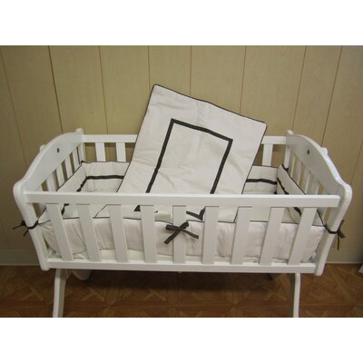 Baby Doll Bedding Hotel Style Cradle Bedding Set