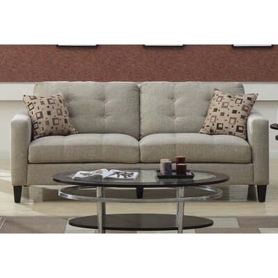 Emerald Home Furnishings Upton Button Back Sofa