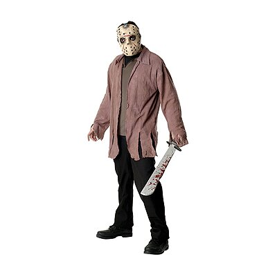 Rubies Friday The 13th Jason Jacket and Eva Mask Adult Costume