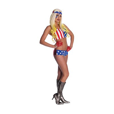 Lady Gaga American Flag Adult Costume